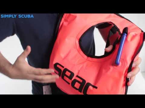 Seac Sub Snorkelling Vest - Www.simplyscuba.com