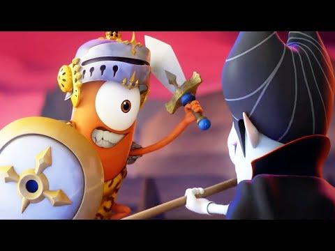 Funny Animated Cartoon | Spookiz Kebi vs Cula Medieval War 스푸키즈 | Cartoon for Children