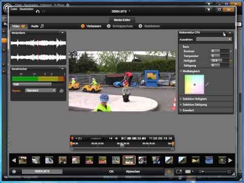 Video Korrekturen in Avid studio und Pinnacle Studio