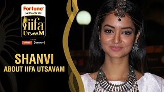 Shanvi Srivastava about IIFA Utsavam   Green Carpet   Be1forChennai   IIFA Utsavam 2016