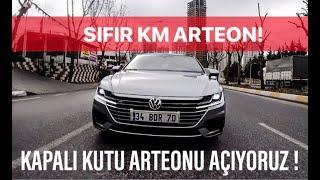 SIFIR KM VW ARTEON R-LiNE ALDIK! | VOLKSWAGEN'iN AMiRAL GEMiSi! | VagGroupTurkiye