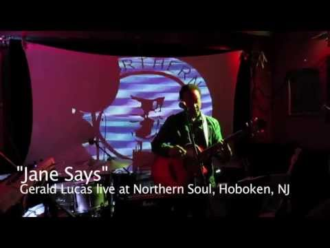 "Gerald Lucas performs ""Jane Says"" Live @ Northern Soul"