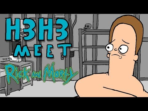 Rick and Morty meet H3H3 Productions [Animated] (From the H3 Charity Podcast)