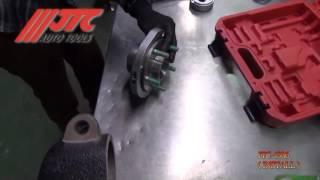 JTC 4306   Набор инструментов для замены ступичных подшипников d=78мм FORD в кейсе JTC