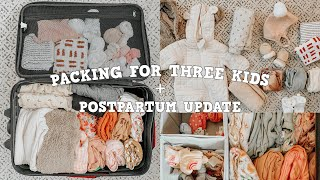 PACKING FOR OUR FAMILY VACATION + POSTPARTUM UPDATE