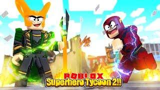 ROBLOX - NEW, SUPERHERO TYCOON 2!!!