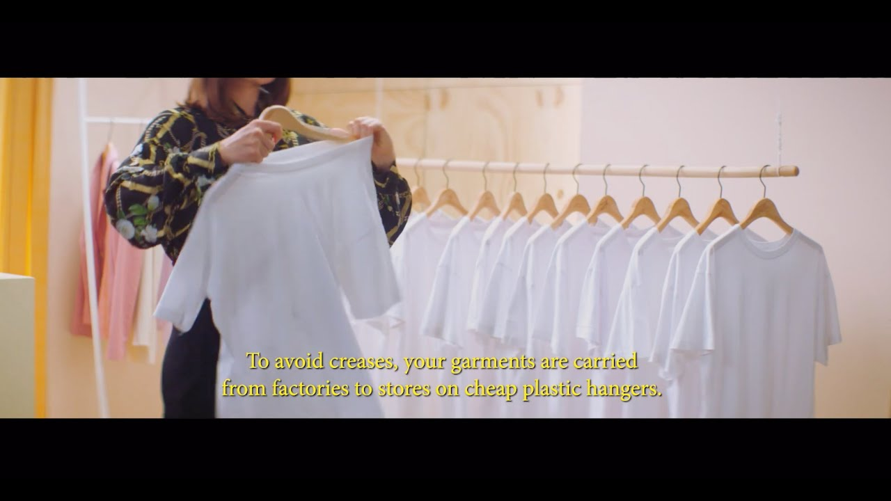 The Penicillin Of Fashion': A Hanger Made From Marine