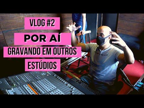 Gravando em outros estúdios - #vlog