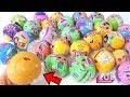 ОГО 32 ШАРИКА ЛОЛ И ЗОЛОТОЙ ШАР Куклы LOL Dolls Surprise Конфетти Поп КИТАЙСКИЕ Подделки PETS LOL mp3