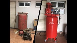 1950's Wayne Air Compressor Restoration