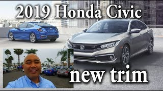 2019 Honda Civic Official trim levels