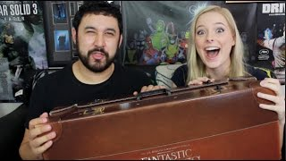 Fantastic Beasts And Where To Find Them UNBOXING THE CASE!!!