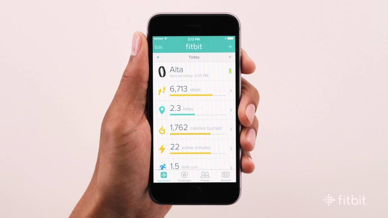 fitbit app for iphone 4 fitbit how to sync and get notifications with ios devices 1384