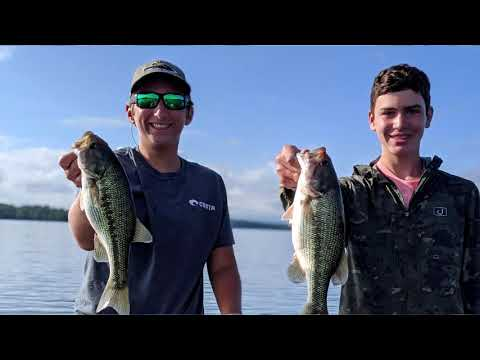Table Rock Lake Video Fishing Report August 4, 2020