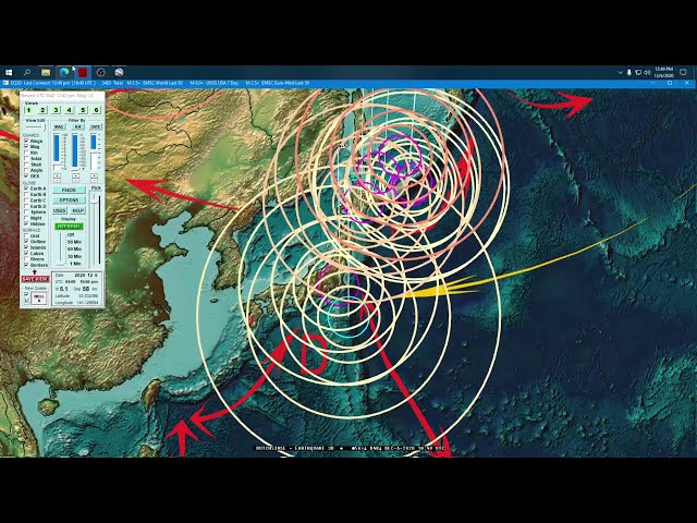 12/06/2020 -- Seismic activity increases by 1000+ earthquakes -- California M4.0+ Earthquakes hit