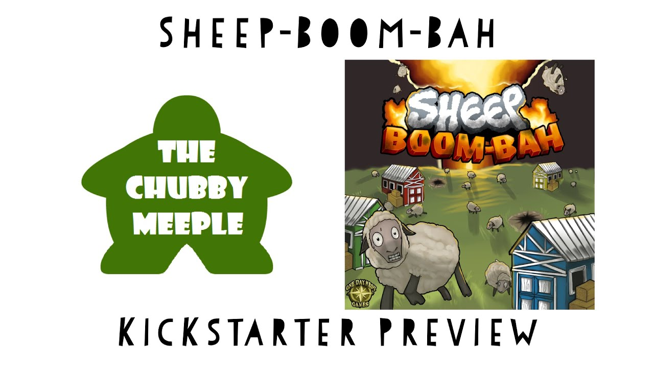 Sheep Boom Bah Relaunch By One Day West Games Kickstarter