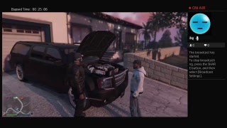 GTA5 chilling with my brother