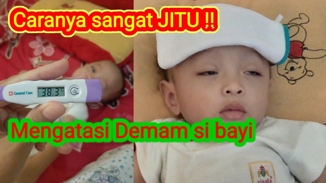 Cara menurunkan demam pada bayi - mudah sekali mengatasi ...