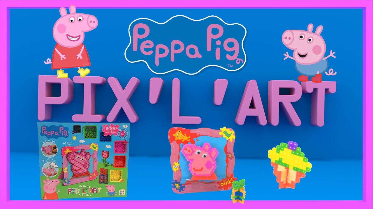 Rare Peppa Pig Aquabeads Pixel Art Playset Peppa Pig Beados