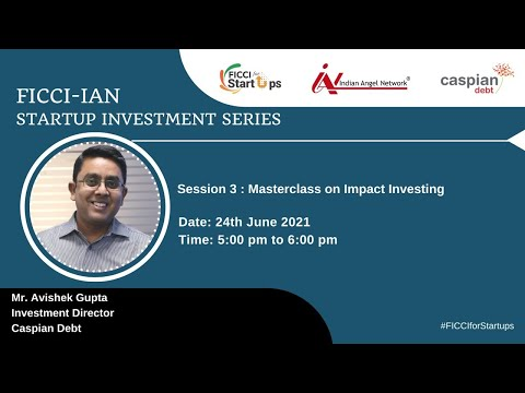 Masterclass on Impact Investing with Caspian Impact Investment