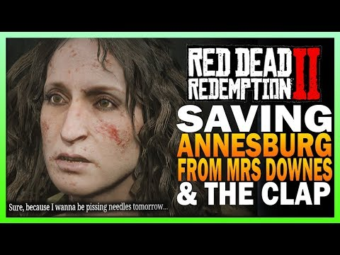 Saving Annesburg From Mrs Downes And The Clap - Red Dead Redemption 2 thumbnail