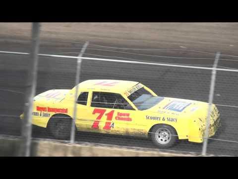 IMCA Hobby Stock Heat 2 Benton County Speedway 4/17/16