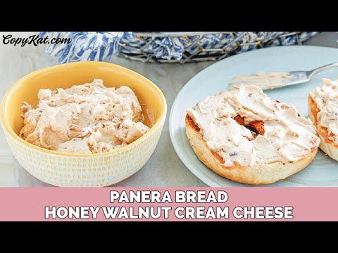 Panera Bread Honey Walnut Cream Cheese Spread YouTube