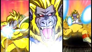 LR GREAT APE BABY 12 KI SUPER ATTACK!   Dokkan Battle JP