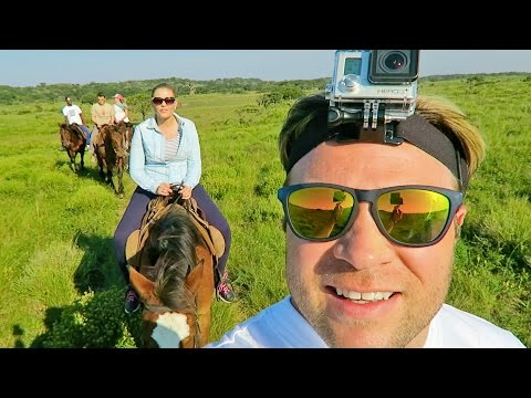 GOPRO HORSE SAFARI | Travel Vlogs | South Africa Vacation