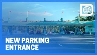 New Parking Entrance to Disney's Hollywood Studios, Walt Disney World