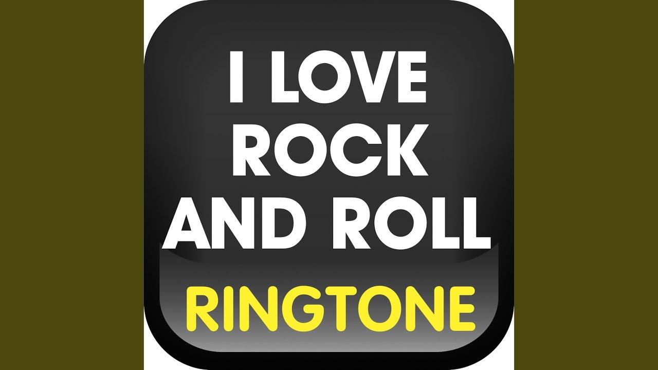 I love rock n roll рингтон скачать
