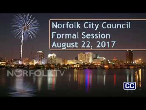 Formal 08/22/17 Session - Norfolk City Council
