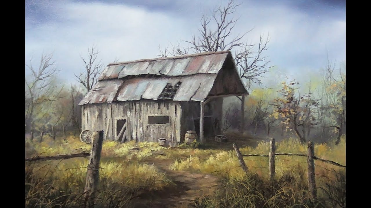 Pictures Of Barns To Paint
