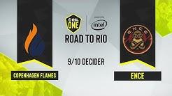 CS:GO - ENCE vs. Copenhagen Flames [Inferno] Map 1 - ESL One: Road to Rio - 9/10 Decider - EU