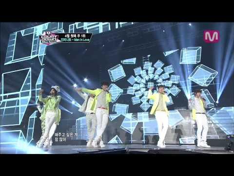 인피니트_Man In Love (Man In Love by Infinite@M COUNTDOWN Nihao-Taiwan 2013.4.25)