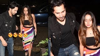 Varun Dhawan take girlfrnd Natasha Dalal to birthday party of a close frnd | nice Jodi
