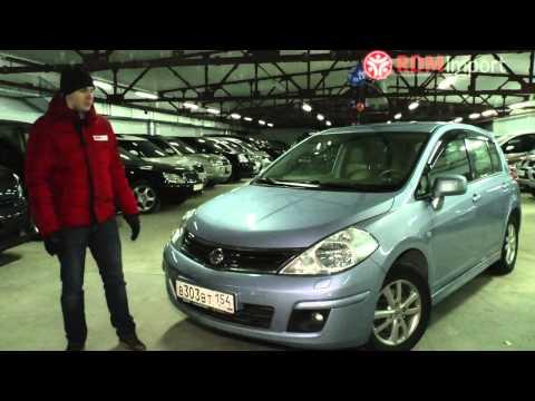 Характеристики и стоимость Nissan Tiida 2012 год цены на машины в Новосибирске