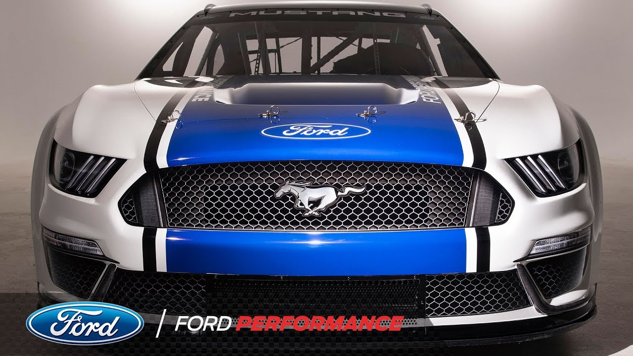 Ford Mustang Gt500 Nascar