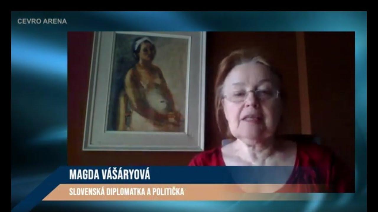 HOST ARÉNY: Magda Vášáryová