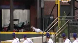 Winston-Salem Dash--Nick Ciolli robs a home run