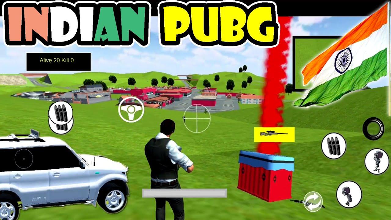 Indian PUBG Has Mahindra Scorpio & Crazy Gameplay 😂
