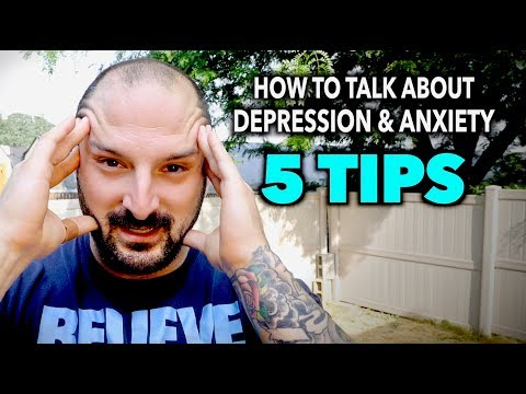 HOW TO TALK ABOUT YOUR DEPRESSION & ANXIETY (5 Tips)