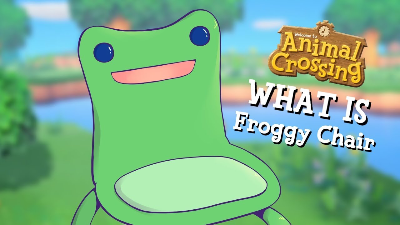 What Is Animal Crossing S Froggy Chair Youtube