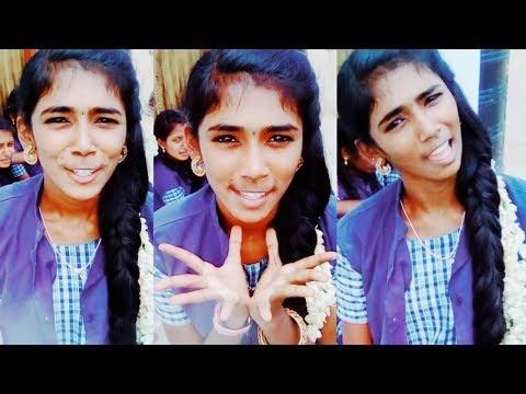 Sweety (TikTok ID : @know_as_baby) _ Tamil Cute School Girl Tik Tok Dubsmash Musically TikTok Videos