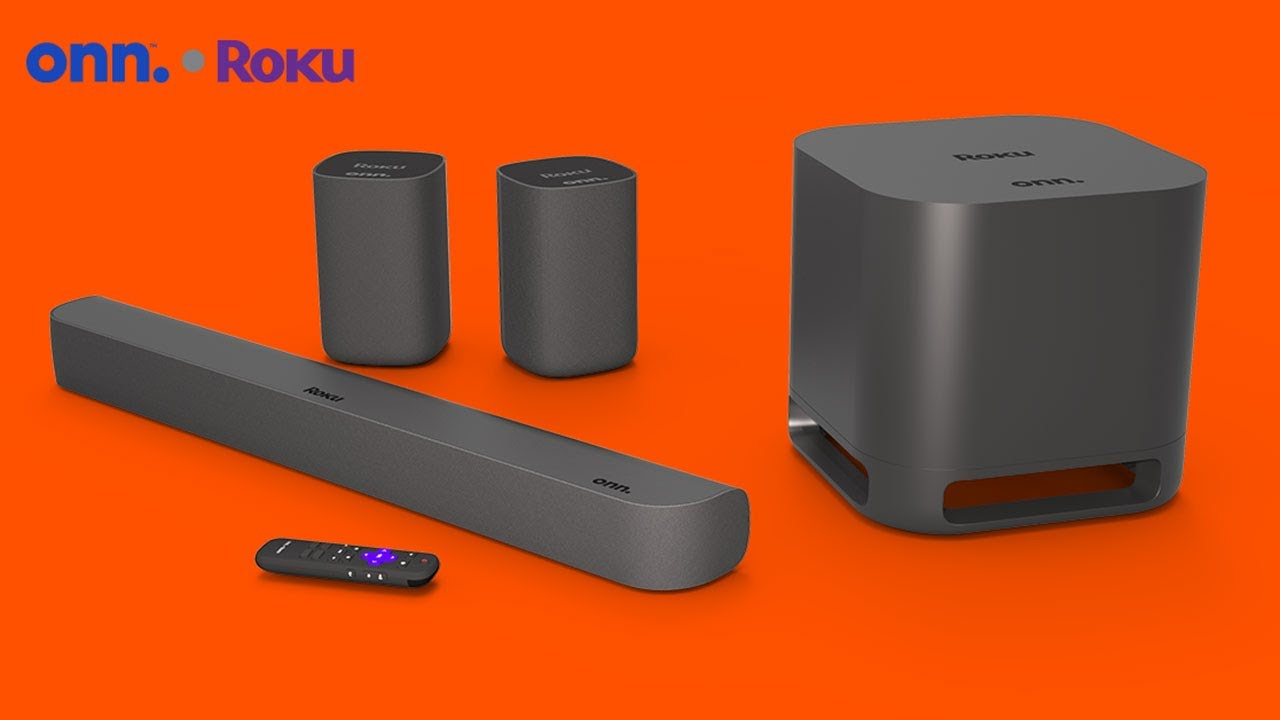 Roku Smart Soundbars Add Surround Sound Expansion Capability New Onn Roku Wireless Surround Speakers Coming Soon Roku