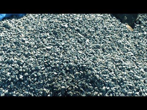 Запуск Мустанг мини на инертных материалах.