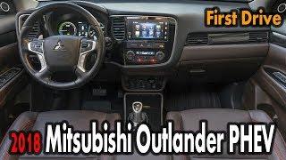 NEW 2018 Mitsubishi Outlander PHEV First Drive