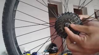 Video Eje roto trasero bicicleta download MP3, 3GP, MP4, WEBM, AVI, FLV Juli 2018