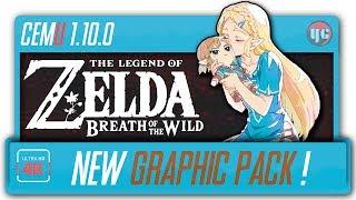 Zelda BOTW Looking SO GOOD!   New Graphic pack comparison!
