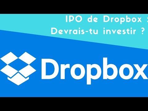 Avis sur l'IPO de Dropbox ($DBX) : Devrais tu investir ?